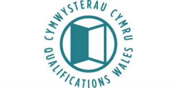 Qualifications Wales* logo