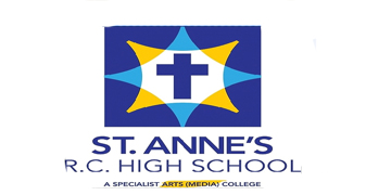 St Annes R.C. High School* logo