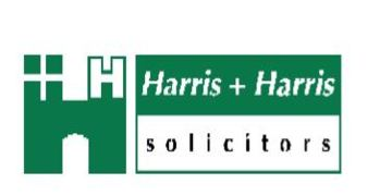 HARRIS & HARRIS SOLICITORS logo
