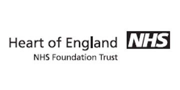 Heart of England NHS Foundation Trust* logo