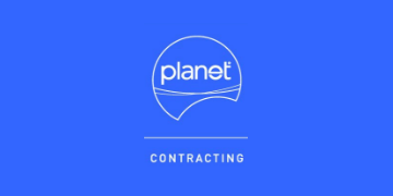 Planet Contracting logo