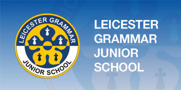 Leicester Grammar Junior School logo