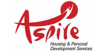 Aspire Housing & Personal Development Services* logo