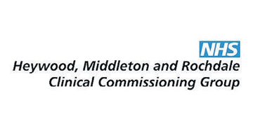 NHS Heywood, Middleton and Rochdale Clinical Commissioning Group* logo