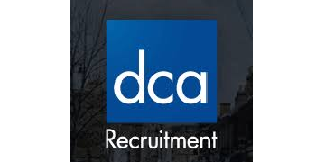 DCA RECRUITMENT logo