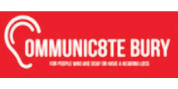 Communic8te Bury* logo