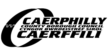 Caerphilly County Borough Council* logo