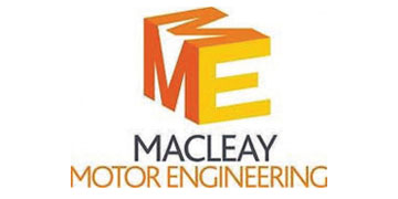 Macleay Motor Engineering* logo