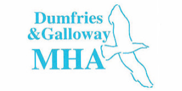Dumfries & Galloway Mental Health Association (MHA)* logo