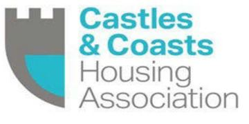 CASTLES & COASTS HOUSING ASSOCATION logo