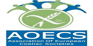 Association of European Coeliac Societies (AOECS) logo