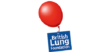 The British Lung Foundation logo