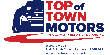 TOP OF TOWN MOTORS logo