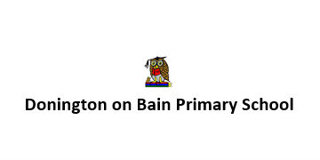 Donington on Bain Primary School logo