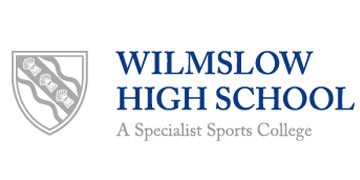 Wilmslow High School* logo