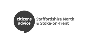 Staffordshire North & Stoke on Trent Citizens Advice Bureaux logo