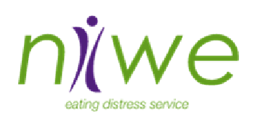 NIWE Eating Distress Service logo