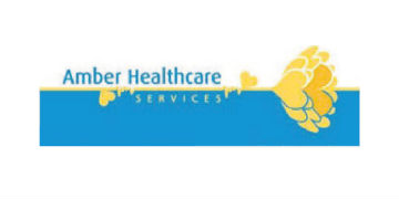 AMBER HEALTHCARE logo