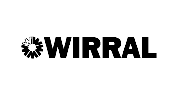 Wirral Borough Council* logo