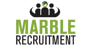 Marble Recruitment Services* logo