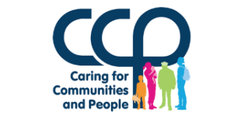 CARING FOR COMMUNITIES AND PEOPLE logo