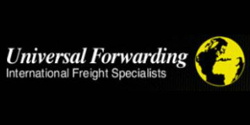 UNIVERSAL FORWARDING logo