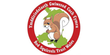 Red Squirrels Trust Wales* logo