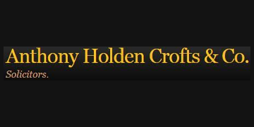 Anthony Holden Crofts and Co Solicitors logo