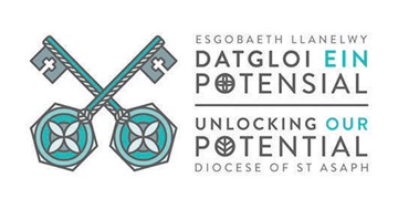 The Diocese of St Asaph* logo