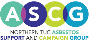 Northern TUC Asbestos Support and Campaign Group* logo