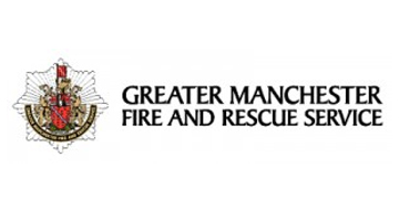 Greater Manchester Fire and Rescue Service* logo