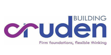 Cruden Building* logo