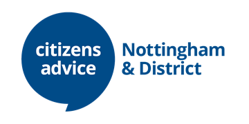 Citizens Advice Nottingham & District logo