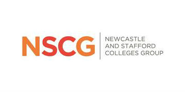 Newcastle & Stafford Colleges Group logo