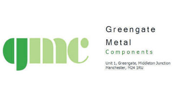 Greengate Metal Components* logo