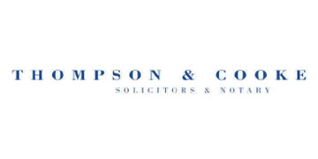 Thompson & Cooke Solicitors* logo