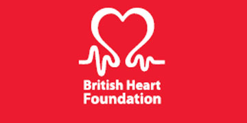 British Heart Foundation* logo