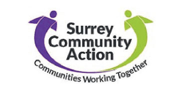 Surrey Community Action* logo