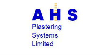 A H S PLASTERING logo