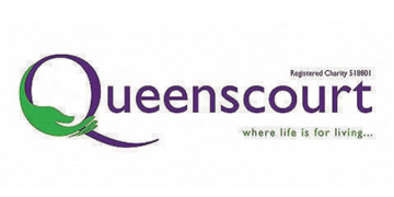 Queenscourt Hospice* logo