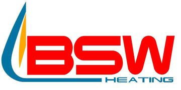 BSW HEATING logo