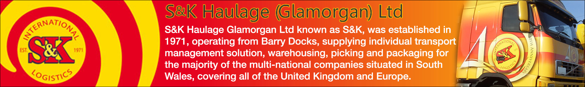 S K Haulage Glamorgan Ltd