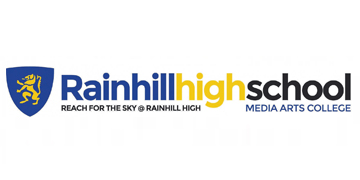 Rainhill High School* logo