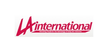 LA International logo