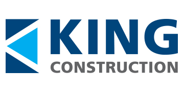 King Construction* logo