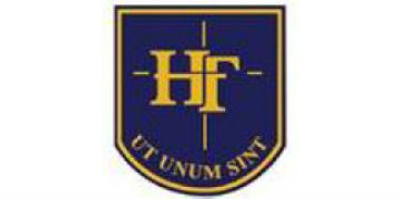 Holy Family Rc and CE College logo