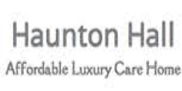 HAUNTON HALL CARE HOME logo