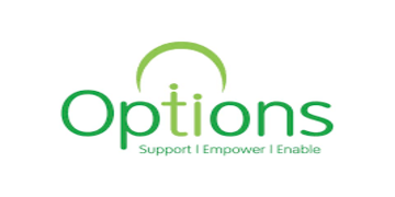 Options for Supported Living logo