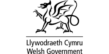 Welsh Government* logo