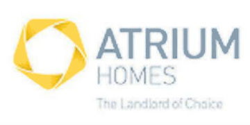 ATRIUM HOMES logo